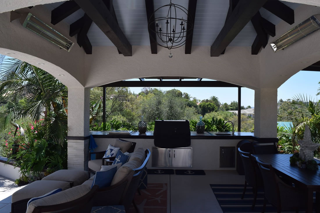 Poway Outdoor Living Design  featured in San Diego Home and Gardens Magazine