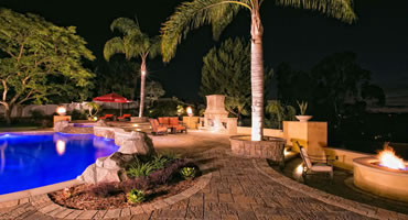 Outdoor Kitchens, Fireplaces and Fire features