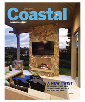 Nick Martin Landscape Architect featured in San Diego Union Tribune Coastal San Diego Homes May 2015.