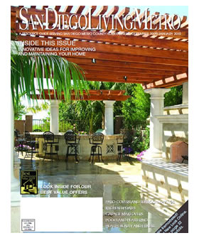 Nick Martin Landscape Architect as featured in San Diego Living Metro magazine. Click to view Dec. 2009/ Jan. 2010 Cover & Article