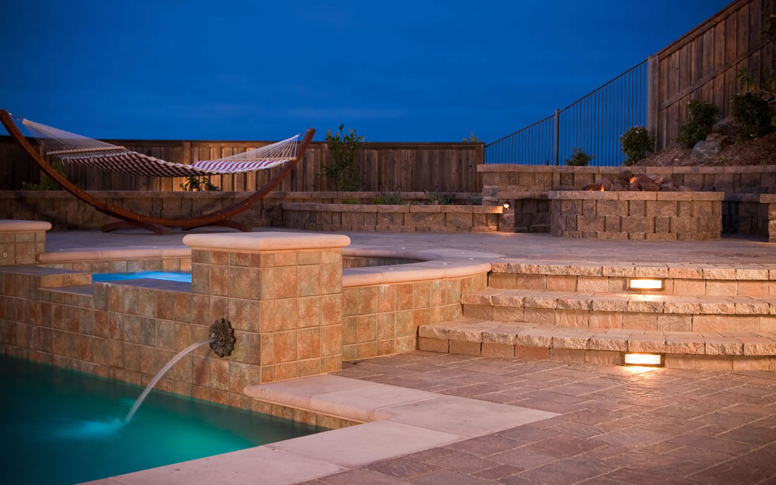 Outdoor Living Spaces w Pool and Firepit Gallery of San Diego