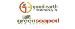 Good Earth Plant Company and GreenScaped Buildings
